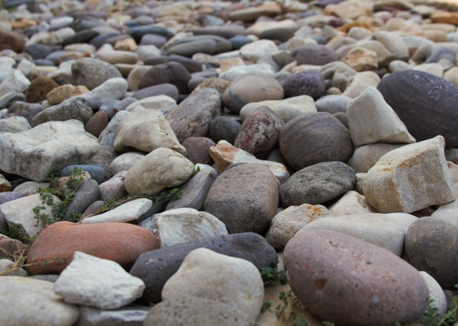 Even rocks can be made to look artistic!